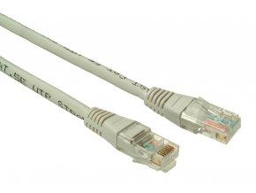 SOLARIX patch kabel CAT6 UTP PVC 1m šedý non-snag proof