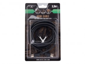 Natec HDMI(M)->DVI-D(M)(18+1) SINGLE LINK GOLD kabel 3m, černý