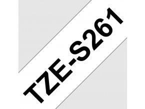 TZE-S261, bílá / černá, 36mm