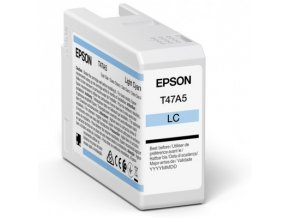 Epson Singlepack Light Cyan T47A5 Ultrachrome