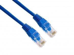 4World Patch kabel RJ45 Cat5e UTP 15m Blue