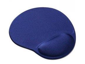 PremiumCord Podložka pod myš gelová modrá