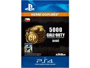 ESD CZ PS4 - 5,000 Call of Duty: Modern Warfare Remastered