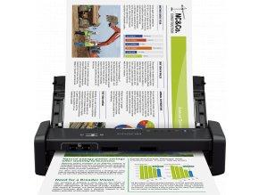 Epson WorkForce DS-360W, A4, 1200 dpi, USB, wifi