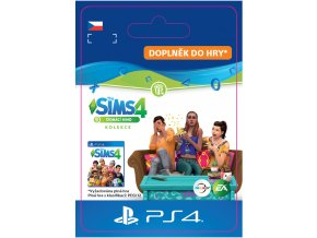 ESD CZ PS4 - The Sims™ 4 Movie Hangout Stuff