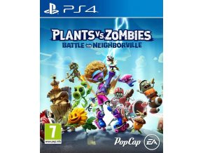PS4 - PLANTS VS ZOMBIES: BATTLE FOR NEIGHBORVILLE