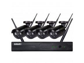 EVOLVEO Detective WN8, bezdrátový NVR kamerový systém