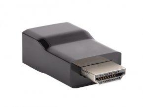 Natec HDMI(M)->VGA(F) adaptér/redukce, černý, blistr