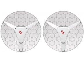 MikroTik RBLHGG-60ad kit, Wireless Wire Dish - kompletní spoj
