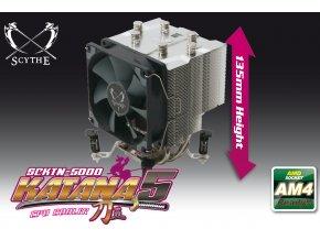 SCYTHE SCKTN-5000 Katana 5 CPU Cooler