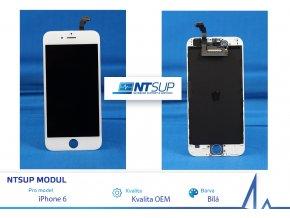 NTSUP LCD modul iPhone 6 bílý kvalita B
