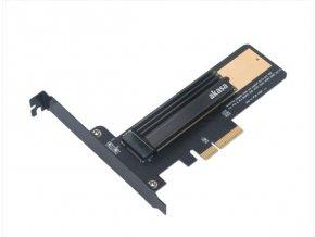 AKASA adaptér M.2 do PCIex s chladičem