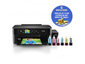 EPSON L810, A4, 5.760 x 1.440, 5 ppm, 6 ink ITS