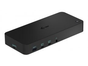 i-tec USB 3.0 / USB-C / Thunderbolt, 3x 4K Docking Station, Power Delivery 70W