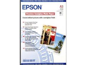 EPSON A3, Premium Semigloss Photo Paper (20 listů)