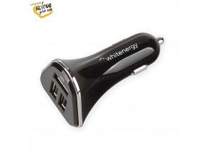WE auto adaptér 3x USB 5V 5200mA Blister Black