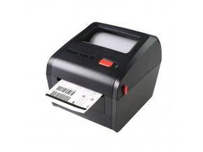 PC42D, 6IPS (max. 8IPS), Black, USB only, 203dpi, EU & UK Power Cord
