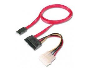 Redukce napájení SATA + 0,5 m datový kabel SATA