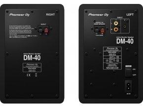 Pioneer DJ DM-40 2.pás. reproduktory černé
