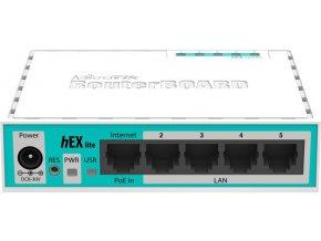 Mikrotik RB750r2 850MHz, 64MB RAM, 5x LAN, ROS L4