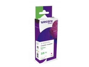 WECARE ink pro EPSON C13T33634012,červená/magenta