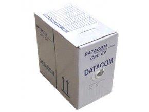 DATACOM  UTP flex,Cat5e LSOH,šedý,305m,lanko