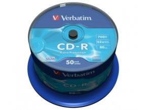 VERBATIM CD-R(50-Pack)Spindl/52x/700MB