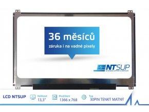 """LCD PANEL NTSUP 13,3"""" 1366x768 30PIN TENKÝ MATNÝ"""