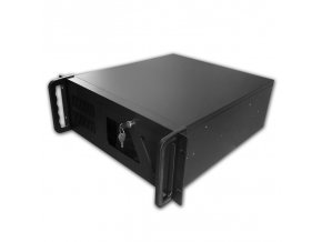 "DATACOM 19"" Case IPC 4U/485mm Černý bez PSU+dárek myš Sony Vaio"