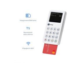 SumUp 3G platební terminál CZ