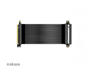 AKASA Riser black X2, 20 cm