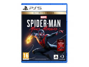 PS5 - Spiderman Ultimate Ed