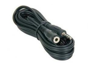 PremiumCord Kabel Jack 3.5mm M/F 5m