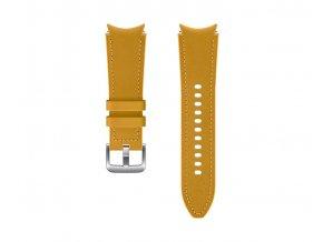 Samsung Hybridní kožený řemínek(20 mm,S/M) Mustard
