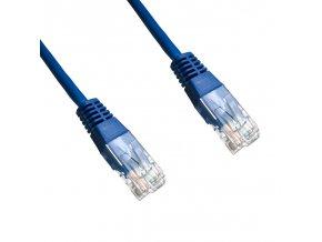 DATACOM Patch cord UTP Cat6    0,5m   modrý