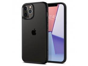 """Ochranný kryt Spigen Ultra Hybrid pro Apple iPhone 12/iPhone 12 Pro (6,1"""") černý"""