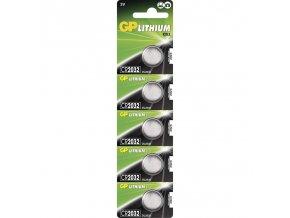 Lithiová baterie GP CR2032 - 5ks