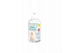 CyberClean POWER GEL - instant liquid sanitizer 7 oz / 220 ml (47029)