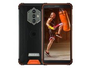 "iGET Blackview GBV6600 Orange odolný telefon, 5,7"" HD+ IPS, 4GB+64GB, DualSIM, 4G, 8580 mAh, NFC"