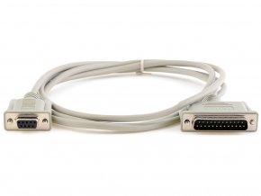 Seriový kabel pro pokladní tiskárny 9F/25M 1,8m