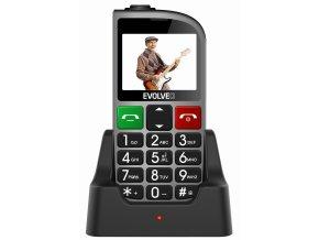 Evolveo EasyPhone FM Senior (Barva červená)