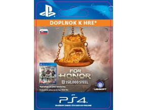 ESD CZ PS4 - FOR HONOR™ 150 000 STEEL Credits Pack