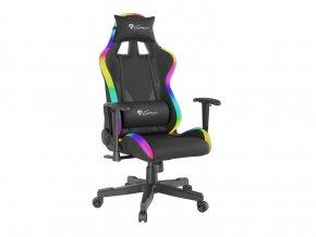 Genesis Trit 600 RGB herní křeslo s RGB podsvícením