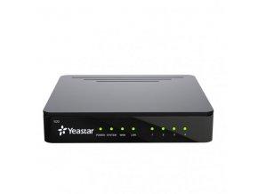 Yeastar S20, IP PBX, až 4 porty, 20 uživatelů, 10 hovorů