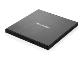 Externí CD/DVD Slimline vypalovačka Verbatim USB-C