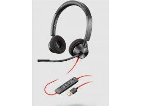 Plantronics Blackwire 3320, MS, USB-A, Stereo