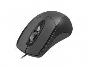 Optická myš Natec Ruff 1000 DPI, černá