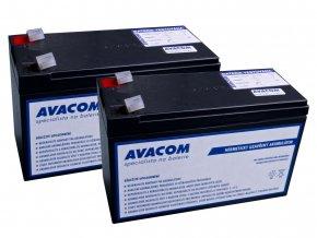 Bateriový kit AVACOM AVA-RBC33-KIT náhrada pro renovaci RBC33 (2ks baterií)