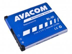 Baterie AVACOM GSNO-BL5F-S1000A do mobilu Nokia N95, E65, Li-Ion 3,6V 1000mAh (náhrada BL-5F)
