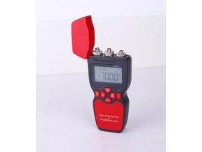 Tester optických tras 3 v 1, typ 911C, měří útlum, zdroj signálu, poruchy